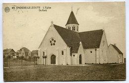 CPA - Carte Postale - Belgique - Knokke - L'Eglise - 1926 ( DD7320) - Knokke