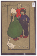 ENFANTS DE HOLLANDE - B ( PETIT PLI D'ANGLE ) - Scènes & Paysages