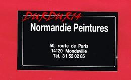 1 Autocollant PEINTURE 50 Route De Paris MONDEVILLE - Autocollants