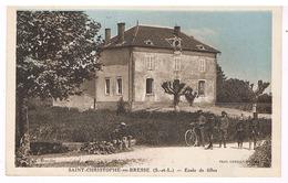 Saint-Christophe-en-Bresse - école De Filles - Other Municipalities
