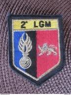 ECUSSON TISSU 2 LGM GENDARMERIE - Police & Gendarmerie