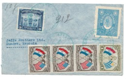 Paraguay, Asuncion To Scotland, Dundee, 1940, Air Mail Postmark - BLPAR - BL-121 - Paraguay