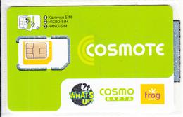 GREECE - Cosmote GSM(multi Sim), Chip COS13, Mint - Greece