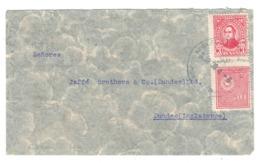 Paraguay, Asuncion To Scotland, Dundee, 1936, Air Mail Postmark, VIA PARIS - BLPAR - BL-130 - Paraguay