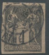 Lot N°46156  N°83 Non Dentelé, Oblit Cachet à Date De La Sarthe - 1876-1898 Sage (Type II)