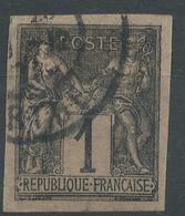 Lot N°46159  N°83 Non Dentelé, Oblit Cachet à Date - 1876-1898 Sage (Type II)