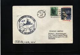 USA 1966 Arctic Exploration USS Burton Island Signed - Polare Shiffe & Eisbrecher