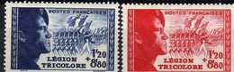 France  1942 XX 565/66 - France