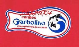 1 Autocollant Cannes CARBOLINO Pêche - Autocollants