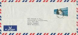 Malaysia Air Mail Cover Single Stamped Sarawak 13-6-1970 - Malaysia (1964-...)