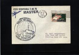 USA 1963 Arctic Operations  USNS Schuylkill Signed - Polare Shiffe & Eisbrecher