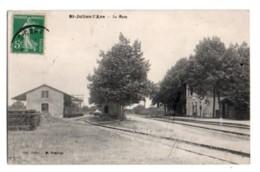 1151, Vienne, Saint St Julien L'Ars, Coll Jublin, La Gare - Saint Julien L'Ars