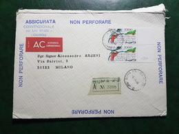 (17760) STORIA POSTALE ITALIA 1986 - 6. 1946-.. Repubblica