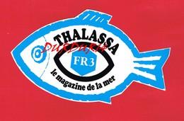 1 Autocollant THALASSA Le Magazine De La Mer Poisson - Autocollants