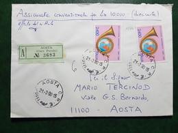 (17762) STORIA POSTALE ITALIA 1990 - 6. 1946-.. Repubblica