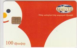 ARMENIA - SNOWMAN - 100 UNITS - Armenië