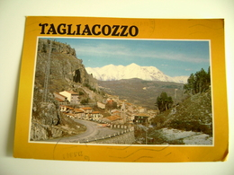 TAGLIACOZZO         ABRUZZO  L'AQUILA VIAGGIATA COME DA FOTO - L'Aquila