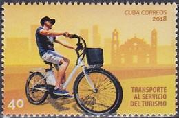 2018 CUBA   ** MNH Vélo Cycliste Cyclisme Bicycle Cycling Fahrrad Radfahrer Bicicleta Ciclista Ciclismo [ee21] - Cyclisme