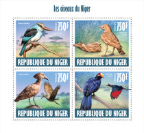 NIGER 2013 - Turaco , Birds Of Niger - YT 1998-2001; CV=16 € - Coucous, Touracos