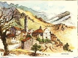 20 - MONTE MAGGIORE - AQUARELLE DE ROBERT LÉPINE - Sonstige Gemeinden