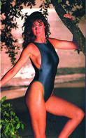 Carol Alt PHOTO POSTCARD  FILM STARS - Mujeres Famosas
