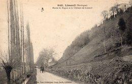 LIMEUIL Route Du Bugue Et Le Château De Limeuil - France