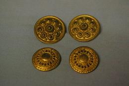 Lot De 4 Boutons - Botones