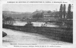 Besançon           25          Promenade Micaud Et Citadelle          (Voir Scan) - Besancon