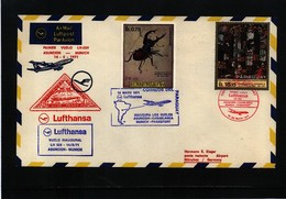 Paraguay 1971 Lufthansa Inaugural Flight Asuncion - Muenchen - Paraguay