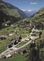 Val D'Hérens, Evolène. Vue Aérienne - VS Valais