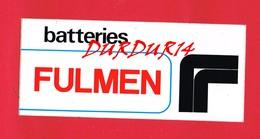 1 Autocollant Batteries FULMEN - Autocollants