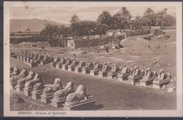 Karnak, Egypte, Carte Postale Circulée, Scan R/V. - Le Caire