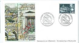 Enveloppe 1er Jour France FDC Meuse Pays De La Saulx 1994 - FDC