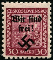 Sudetenland Rumburg Dauerserie 30 Heller Wappen Mi.Nr. 5 POSTFRISCH Und ECHT !! - Besetzungen 1938-45