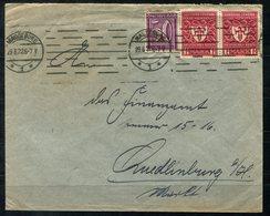 4452 - D.R. - Brief Mit U.a. Mi. 199d (2) - Infla Geprüft / Rückseitig Große Siegelmarke MAGDEBURG - Deutschland
