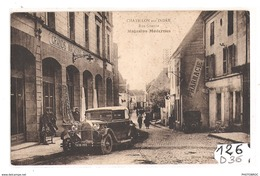 126  FRD36 CHATILLON SUR INDRE RUE GRANDE TTB - Francia