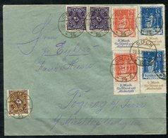 4454 - D.R. - überfrankierter Brief Mit 233 (2), 234 (2), 230 (2) Und 208 --- Infla Geprüft - Deutschland