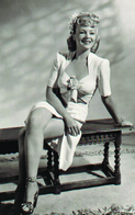 Claire Trevor PHOTO POSTCARD  FILM STARS-1 - Mujeres Famosas