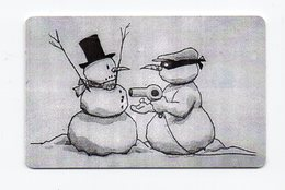 Impulz 50 Imp. Phonecard - Snowman - Slovenia