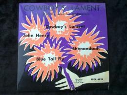 Lou Reizner And His Guitaricians: Cowboy's Lament/ 45 Tours Egex 4524 - World Music