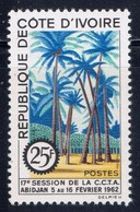 Ivory Coast 196 NH 1962 Palm Trees - Ivory Coast (1960-...)