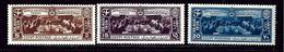Egypt 203-05 MNH 1936 Anglo-Egyptian Treaty - Egypt