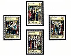 St Helena 424-27 MNH 1984 Christmas - Saint Helena Island