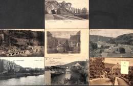 Yvoir- Lot 7 Cartes (Tunnel, Le Bocq, Viaduc, Lagaert, Nels, Animée, Oldtimer) - Yvoir