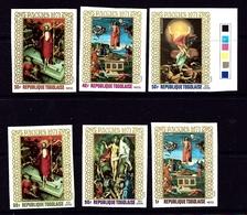 Togo 771-73C146-48 MNH 1971 Easter Imperf Set - Togo (1960-...)