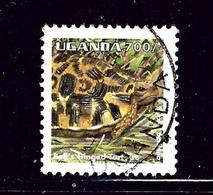 Uganda 1336  Used 1995 Tortoise - Uganda (1962-...)