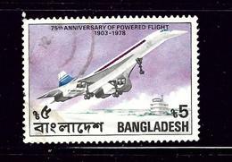 Bangladesh 152 Used 1978 Anniv Of Powered Flight - Bangladesh