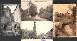 Walcourt - Lot 4 Cartes (Sortie De Messe, Animée, L'eau D'Yves, Laflotte, Précurseur) - Walcourt