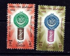 Iraq 401-02 MNH 1966 Set - Iraq