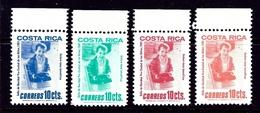 Costa Rica RA89-92 MNH 1981 Set - Costa Rica